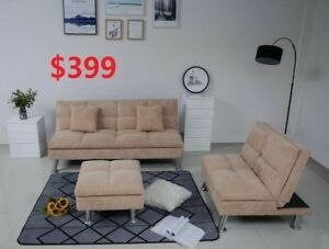SECTIONAL SOFA BED SET 399 ONLY