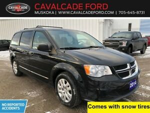 2014 Dodge Grand Caravan SXT with snow tires & no accidents!!
