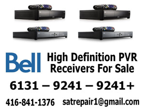 Bell HD PVR Satellite Receivers For Sale 6131/6141 – 9241+