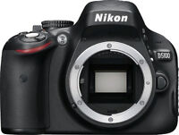 Nikon D5100 body with three lenses in great condition