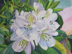 Princess Rhodi Watercolour