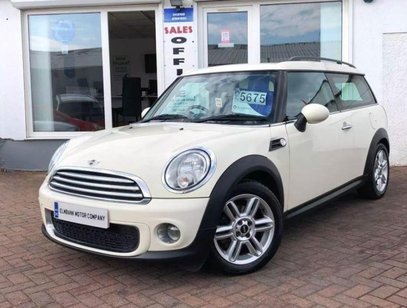 2011 11 Mini Clubman 16 One D 5d Diesel In Ayr South