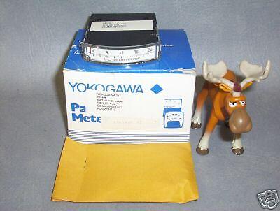 Rr406 Yokogawa 287 Thin Edgewise Panel Meter