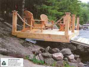 """ Dock On A Rock "" Dock or Deck-Kit Mounting System ."