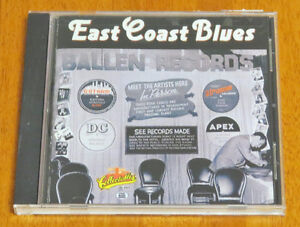 East Coast Blues CD 1990
