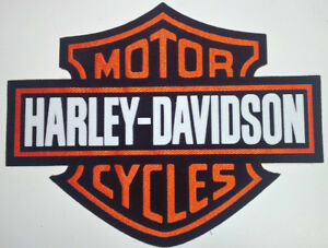 HARLEY DAVIDSON FELT 5x6 INCH MOTORCYCLE PATCH / JACKET