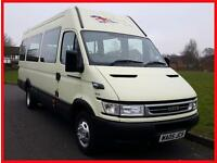 Iveco DAILY 45C13 + LWB + 17 SEATER MINIBUS + LWB + TWIN WHEELS