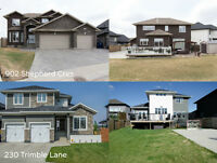 Open house this weekend on our 2 Custom designed homes