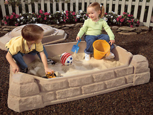 Naturally Playful Sandbox - Excellent Condition