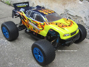 New RC Truggy / Truck Brushless Electric LIPO 2.4G 4WD RTR