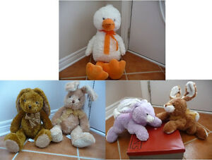 Variety of Brand New Wonderfully Soft Easter Plush