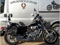 EXCEPTIONAL 1999 YAMAHA XV1100 VIRAGO, NEW BAGS, 23132 MILES, SERVICE HISTORY