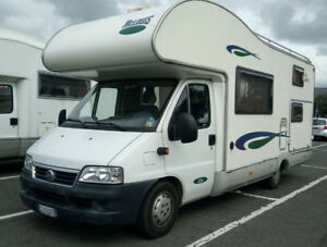 looking for a Rv trailor or camper van
