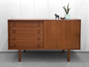Danish Credenza Hutch : Teak out buy or sell hutchs display cabinets in toronto gta