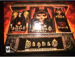 Jeu Diablo II + Myst l'apogée