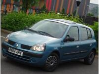 Renault Clio 1.4 1390cc engine, Automatic gearbox, 5 Doors, 51k Low Mileage