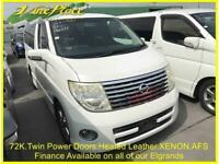 2007 07 NISSAN ELGRAND HIGHWAY STAR 3.5 BLACK LEATHER EDITION, AUTO, 8 SEATS