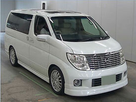 FRESH IMPORT 54 PLATE FACE LIFT NISSAN ELGRAND XL BUSINESS ADDITION 3.5 V6 AUTO