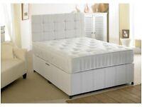 Best Seller- Brand New Double Divan Bed Base and Deep Quilt Semi Orthopedic Mattress