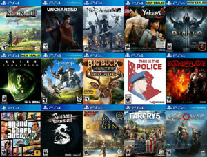 PLAYSTATION 4 Games For Sale or Trade