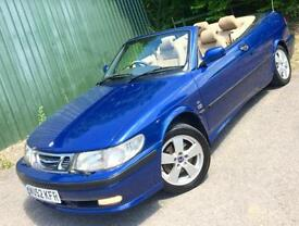 Saab 9-3 2.0 SE **16V TURBO Convertible***ONLY 69,000 MLS/FSH !***