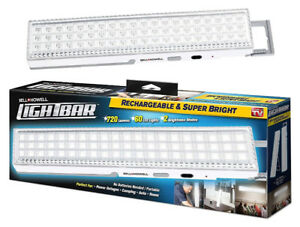 720 Lumen Bright LED Light Bar with 60 LED's