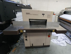 EBA  550 Paper Cutter, Germany made ,great condition