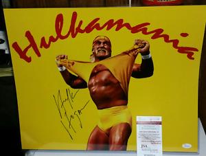 Hulk Hogan signed