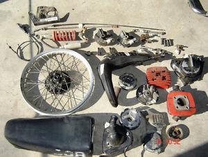 1982 Honda CR80 parts for sale