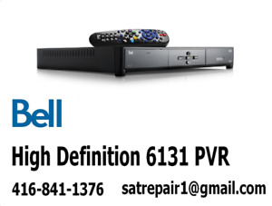 Bell HD PVR Satellite Receivers For Sale 6131 6141