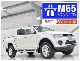 14 MITSUBISHI L200 LOW MILEAGE TROJAN 2.5DI-D 4WD 4x4 DOUBLE CAB PICKUP 1 OWNER