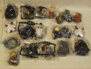Lot of 19 Factory Sealed Star Wars Toys