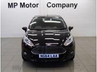 2015 64 FORD FIESTA 1.6 ZETEC 5D AUTO 104 BHP 6SP NEWSHAPE SPORTY AUTO HATCH,
