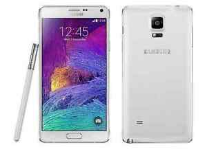 Unlocked White Samsung Note 4