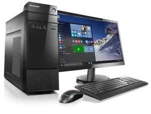"Ordinateur Desktop Core i5 16GB Ram + écran 24"" LED + Clavier + Souris 399$"