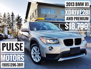 2013 BMW X1 XDrive28i TURBO AWD PREMIUM - ONE OWNER - REDUCED!!!