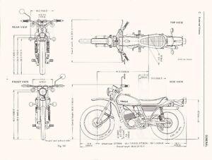 Yamaha 1974 dt 360 enduro