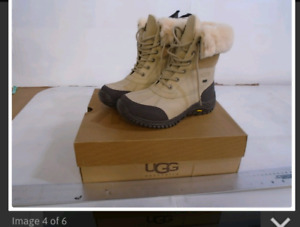 NEW UGG BOOTS WOMEN'S 9  ADIRONDACK II LEATHER SUEDE  SHOES