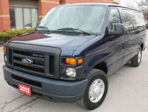 2012 FORD E150 XL 8 PASSENGER NEW TIRES ACCIDENT FREE