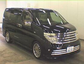 FRESH IMPORT 53 PLATE NISSAN ELGRAND V6 RIDER PETROL 4WD AUTO LUXURY MPV