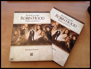 Robin Hood Prince of Thieves DVD Special Extended Kevin Costner