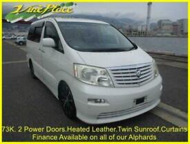 2003 03 TOYOTA ALPHARD MZ-G EDITION 3.0 AUTO 7 SEATS,TWIN SUNROOF, LEATHER, CURT