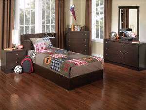 NEW IN BOX KID'S 6-PIECE BEDROOM PACKAGE, MADE IN CANADA