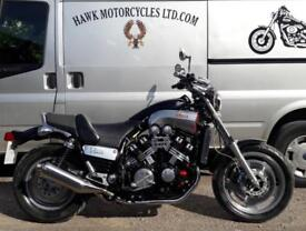 STUNNING 1999 YAMAHA VMX1200 FULL POWER VMAX MUSCLE BIKE EXCEPTIONAL CONDITION