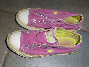 Converse slip ons, Atheltic Works sneakers, Justice boots size1