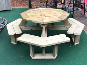 Not Your Usual PICNIC Tables or CUSTOM Garden Structures