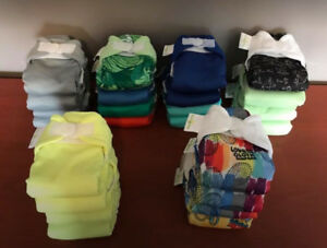 24 Excellent Condition Newborn Bumgenius Diapers