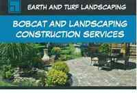 Landscaping & Bobcat Construction Services