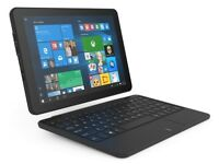 Linx 1010 tablet with keyboard