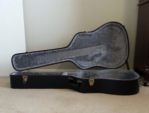 Saga Solid Top Acoustic Guitar with Hard Shell Case London Ontario image 8